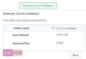 How to recover deleted files from Dropbox? (with Pictures