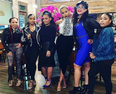 Tiny Harris And Several Of Her Friends Go Wild For Ladies