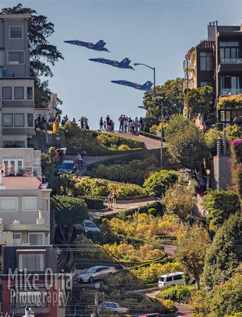 Is this Blue Angels photo from Lombard Street too good to