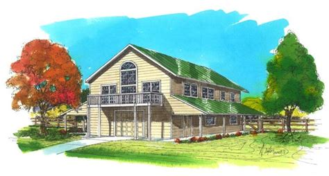 Image result for 40x60 pole barn two story   40x60 pole