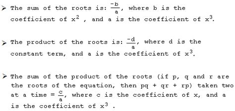 Howto: How To Factorise A Cubic Equation