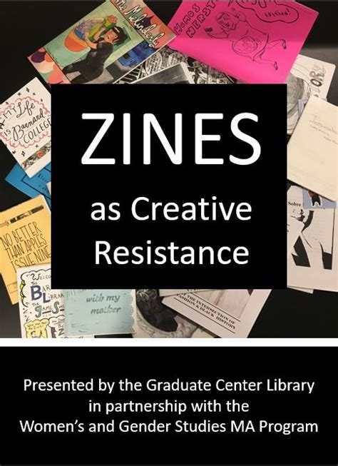 Zines as Creative Resistance: A Scholarly Exploration