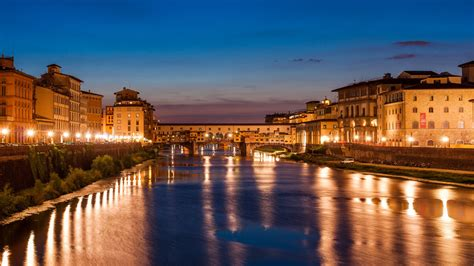 Wallpaper Florence, Italy, Night, Tourism, Travel, Travel